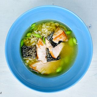 Zupa z zielonej herbaty