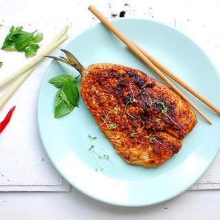 Makrela pieczona z chili