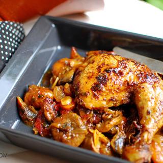 Tagine z kurczaka i suszonych owoców