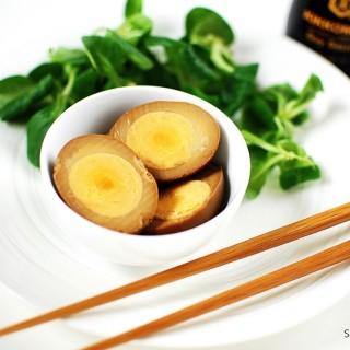 Jaja marynowane w sosie sojowym